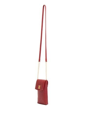 Pierre Cardin Messenger / Askılı Çanta Kırmızı